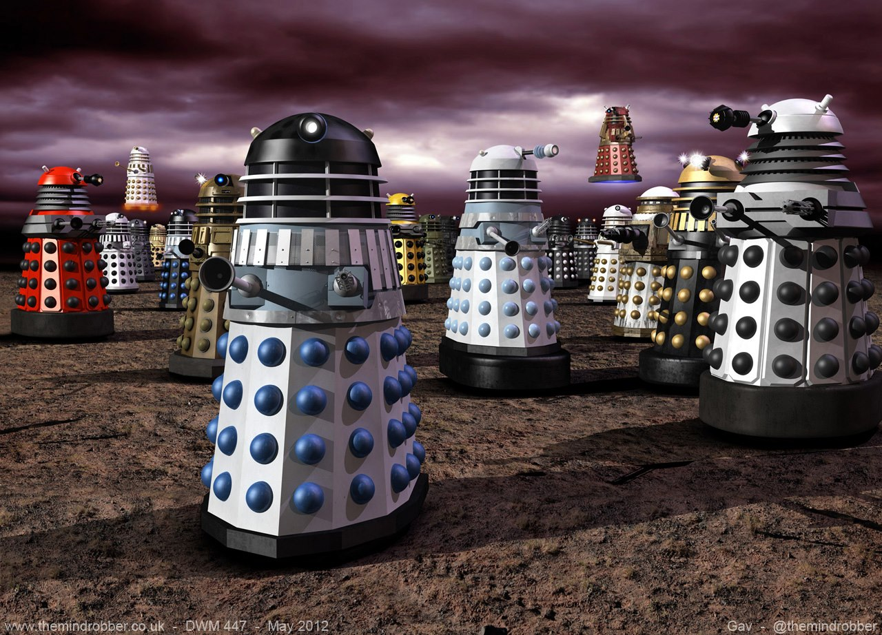 Gavin rymill cgi 3d renders and models for print media - Doctor who dalek pics ...
